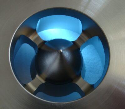 Mit Drahterosion bearbeitete Prototypen